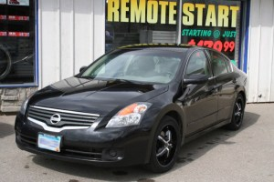 Throwback Installation: Nissan Altima Audio Upgrade for Mankato Client