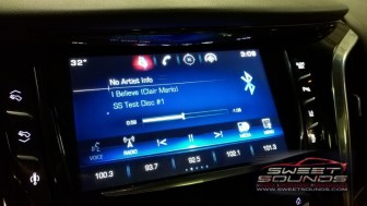 Cadillac Escalade Audio