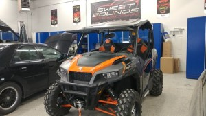 Polaris General Audio System for Le Sueur Offroader