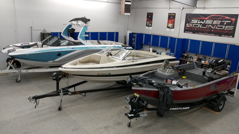 Your New Boat Stereo System is in Stock at Sweet Sounds