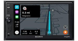 Navigation on a Sony Multimedia Head Unit
