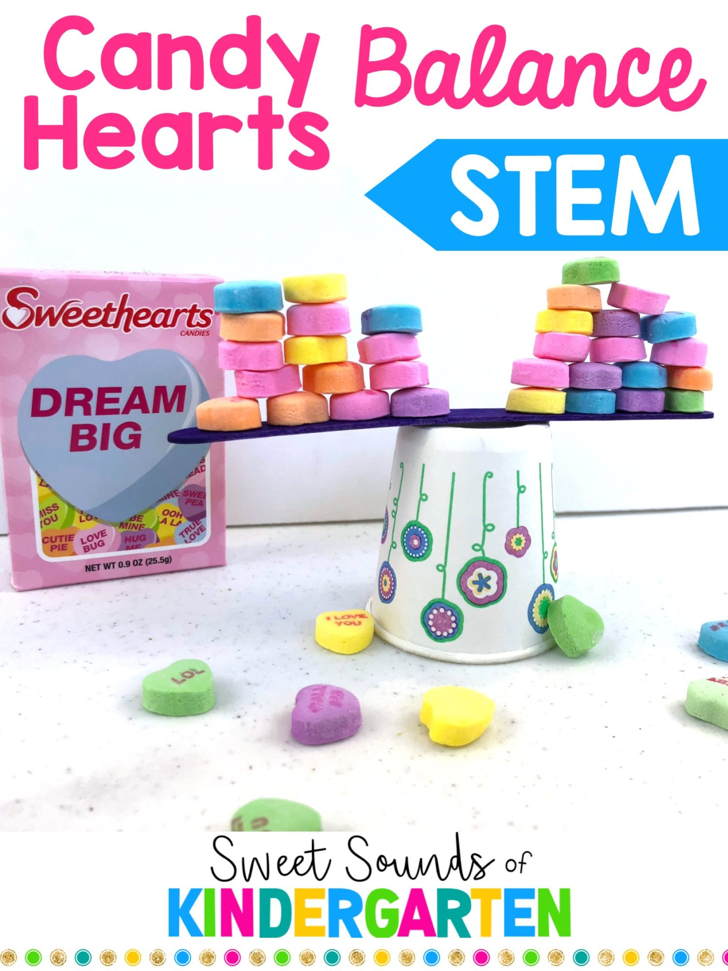 Candy Hearts Stem Challenge
