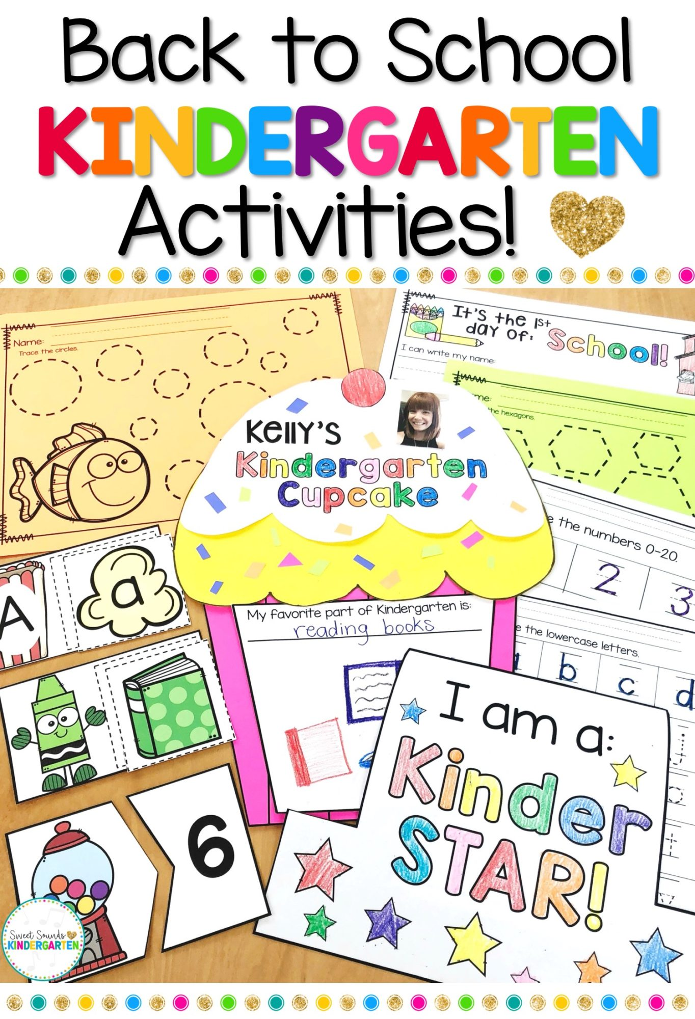 Kindergarten Back To School Activities