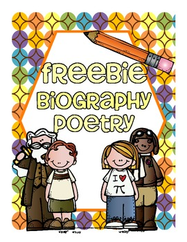 Biography Poetry use in all Common Core Areas