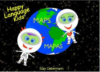 Spanish/English Vocabulary Learning for Children MAPS/MAPAS - MAPS - MAPAS teaching children the vocabulary of WHERE WE LIVE