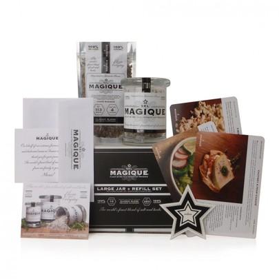 FREE Sel Magique Sea Salt Seasoning Sample + Enter to Win a Large Jar + Refill Set