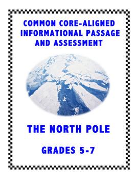 The North Pole: Common Core Assessment for Grades 5-6