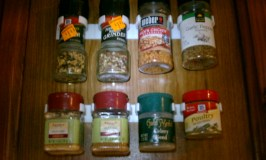Spice Gripper Strips –fast, inexpensive, and convenient way to organize!