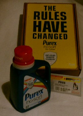 Free Purex® No Sort® for Colors detergent Coupon Giveaway