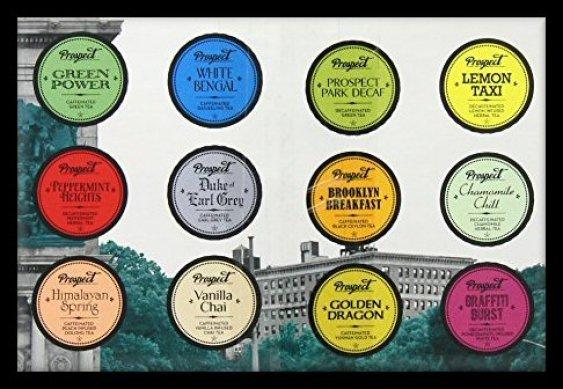 Prospect Tea Variety Button