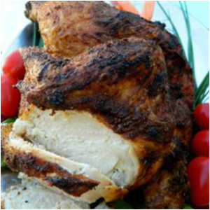 Crispy Roasted Chicken Recipe and Coriander Seeds Review