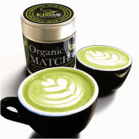 Japanese Tea Ceremony with Organic Matcha Green Tea Powder