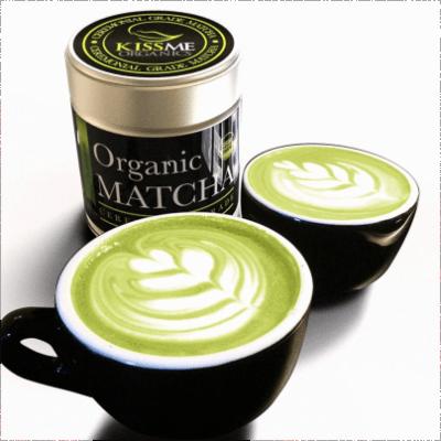 Japanese Tea Ceremony with Organic Matcha Green Tea Powder