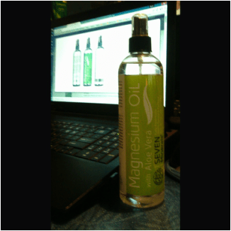 Magnesium Oil with ALOE VERA_ Get Relief From Aches and Pains So You Can Relax and Sleep Better