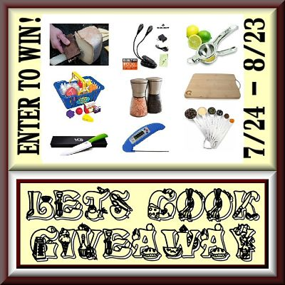 Enter to Win One of Two Incredible Prize Packages in the Let's Cook! Giveaway by 8/23