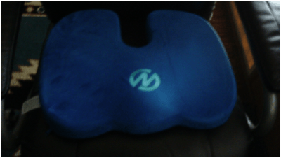 Coccyx Seat Cushion - Pain Relief for Home, Office, and Travel