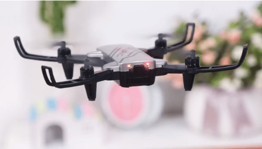 The D20 is very lightweight and so is the controller. Without any substantial weight, this drone is not designed to be flown on windy days or taken up to higher altitudes where there can be strong winds.