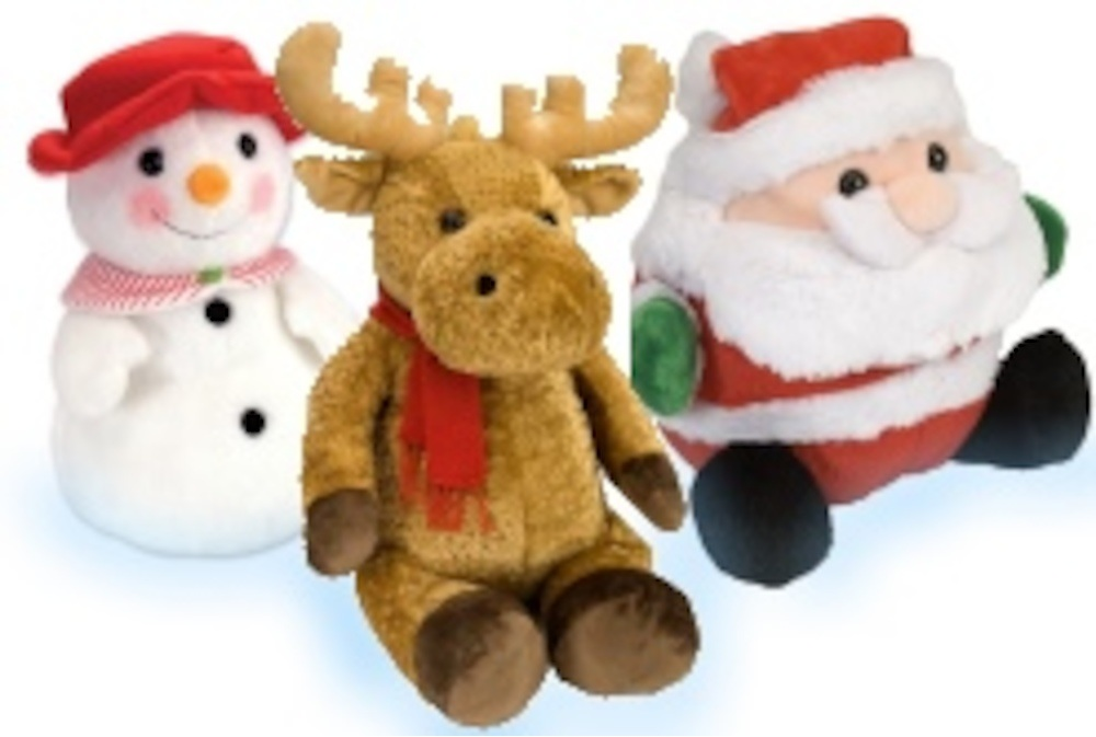 Make your loved one's spirit extra bright with these fun and cuddly holiday toys and stuffed animals from Wild Republic! Perfect for spreading holiday cheer!