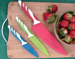 Sheathed Colored Knife Set Giveaway
