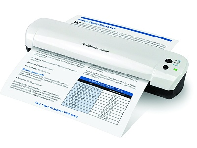 Visioneer Mobility Color Cordless Scanner - Anywhere! Anytime!