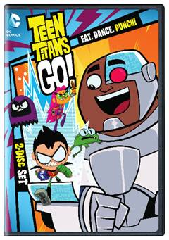 Press Release: TEEN TITANS GO!: EAT. DANCE. PUNCH! Season 3 Part 1 on DVD May 31st
