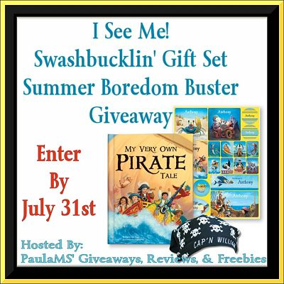 I See Me! Swashbucklin' Gift Set Summer Boredom Buster Giveaway
