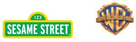 Sesame Street and Warner Brothers Home Entertainment (WBHE) Logos