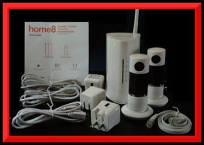 Home Security a Home8 Twist HD Security Camera Kit worth $300 - Giveaway