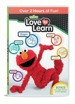 Enjoy two hours of fun with your favorite furry monster, Elmo! When Sesame Street: Love to Learn arrives on DVD September 6th