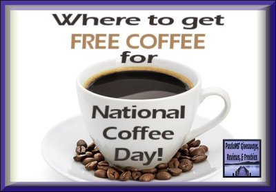 Where to get FREE COFFEE for National Coffee Day!
