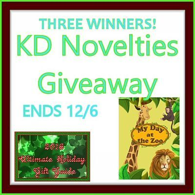 2016 Ultimate Holiday Gift Guide KD Novelties A Day at the Zoo Giveaway