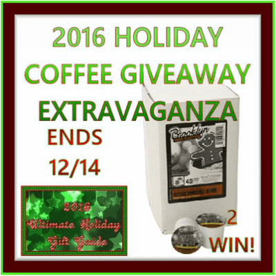 BBR Gingerbread Man Coffee Extravaganza GiveawayEnds 12/14