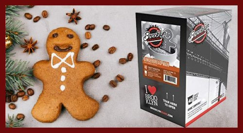 Catch This Gingerbread Man Coffee Before It's GONE!