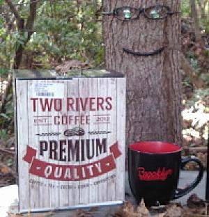Two Rivers Coffee With BBR Mug