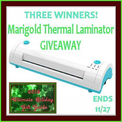 2016 Ultimate Holiday Gift GuideMarigold LaminatorGiveaway