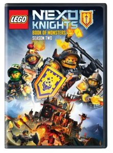 The NEXO Knights are back again! Season 2: Book of Monsters on DVD