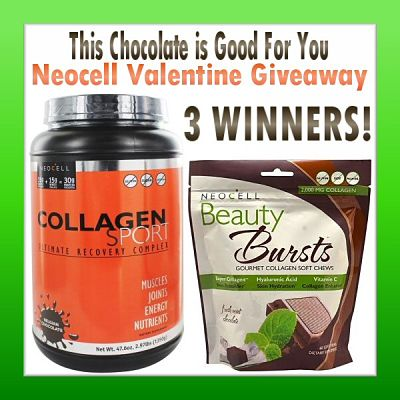 This Chocolate is Good For You NeocellValentineGiveaway