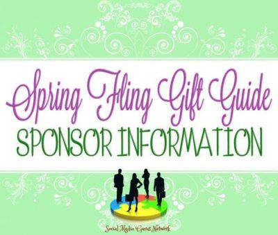 Spring Fling Gift Guide Sponsor Information