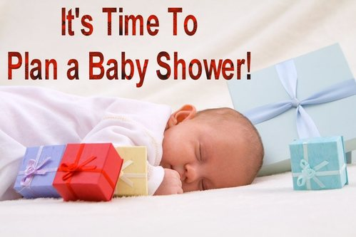 It's Time To Plan a Baby Shower
