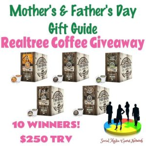 Realtree Coffee Gift Guide Giveaway Ends 6/18 – 10 WINNERS