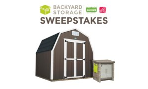 Step2 StoneFront Patio Collection Cooler & Storage AND a Ready Shed by Backyard Discovery Giveaway Ends 4/16
