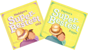 Two Personalized I See Me Books For Grandchildren to Give