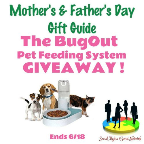 The BugOut Pet Feeding System Giveaway Ends 6/18 @Bugoutbowl @SMGurusNetwork