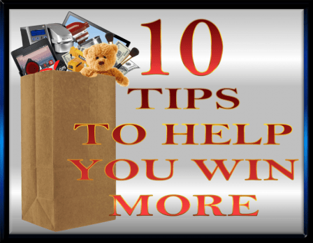 10 TIPS TO HELP YOU WIN MORE