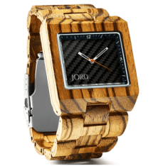 JORD hand-crafted wood watch