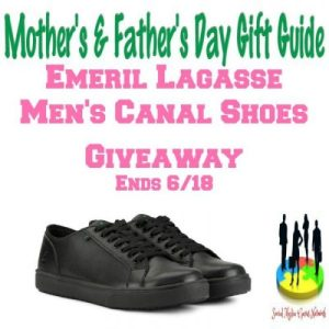 Emeril Lagasse Men's Canal Shoes Gift Guide Giveaway Ends 6/18