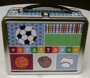 Kick, Score, Run! Personalized Lunch Box Review