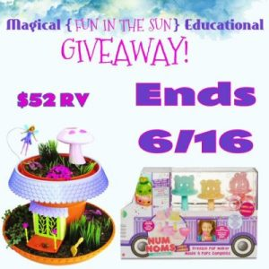 "Magical ""Fun In The Sun"" Educational Giveaway Ends 6/16"