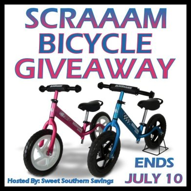 Scraaam Bicycle Giveaway