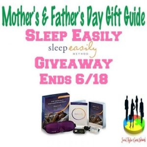 Sleep Easily Gift Guide Giveaway Ends 6/18